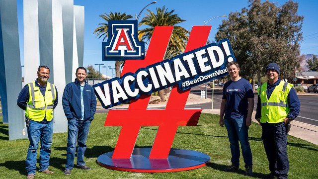 How the University of Arizona speeds up COVID-19 vaccine roll-out at its drive-through POD